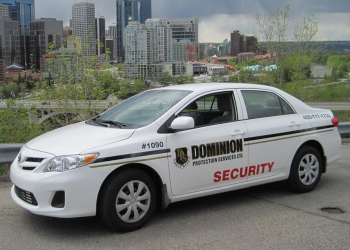 Calgary security guard company Dominion Protection Services