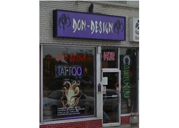 Longueuil tattoo shop Don Design