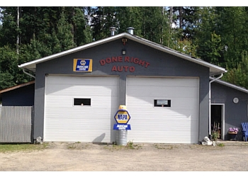 Prince George car repair shop Done Right Auto