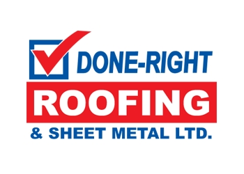 Milton roofing contractor Done Right Roofing & Sheet Metal ltd.