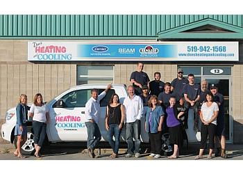 Orangeville hvac service Don's Heating & Cooling Ltd.