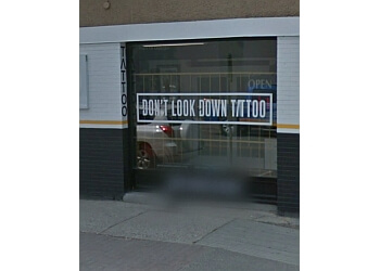 Kelowna tattoo shop Don't Look Down Tattoo & Apparel