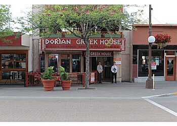 Kamloops mediterranean restaurant Dorian Greek House