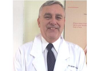 Moncton podiatrist Dr. Brian Johnson