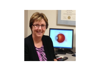 Peterborough pediatric optometrist Dr. Cheryl Cawker, B.Sc, OD