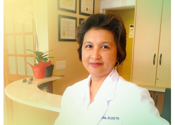 New Westminster cosmetic dentist Dr. Claribel Floreta, DMD