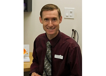 Medicine Hat pediatric optometrist Dr. Clark Hyde, OD