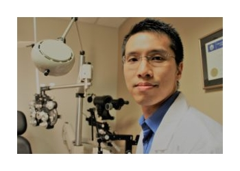 Port Coquitlam optometrist Dr. Clement Chan, OD