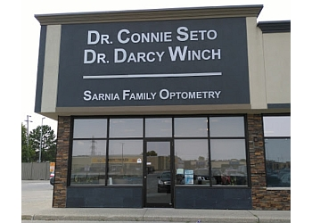 Sarnia pediatric optometrist Dr. Darcy Winch, OD