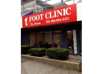 North Vancouver podiatrist Dr. David Dixon, DPM