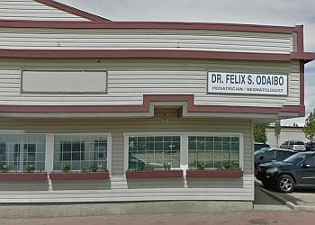 Grande Prairie pediatrician Dr. Felix Odaibo, MD