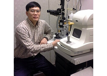North Vancouver pediatric optometrist Dr. Haiquan Liu, OD