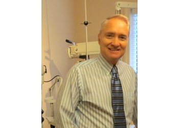 Fredericton optometrist Dr. Harry Bohnsack, OD