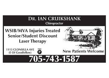 Dr. Ian Cruikshank, DC Peterborough Chiropractors