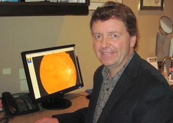 Kingston optometrist Dr. James F. Sills, OD