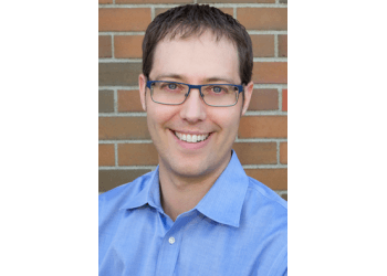 Airdrie pediatric optometrist Dr. Jared Long, OD