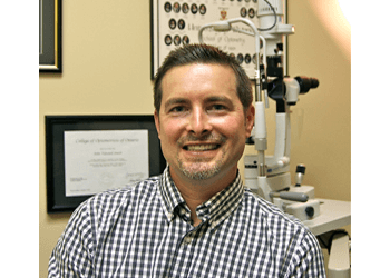 Cambridge pediatric optometrist Dr. Jason Ritchie, OD