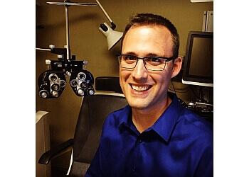 Nanaimo optometrist Dr. Jesse Petreman, OD