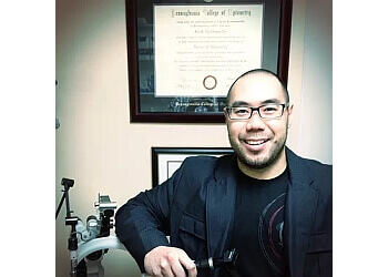 Peterborough pediatric optometrist DR. JIM NG CHEONG TIN, B.SC, OD, FAAO