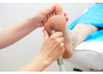 Granby podiatrist Dr. Kim Desroches, DPM