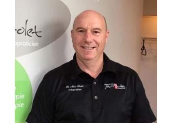 Quebec chiropractor Dr. Marc Drolet, Chiropraticien DC