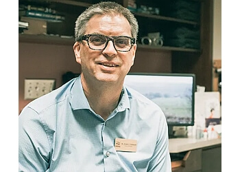 Burlington optometrist Dr. Mark Germain, OD