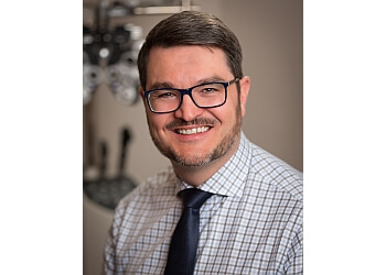 St Albert pediatric optometrist Dr. Peter Roed, OD