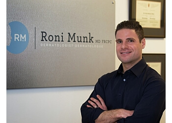 Montreal dermatologist Dr. Roni Munk, MD
