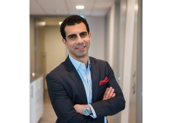 North Vancouver chiropractor Dr. Soroush Khoshroo, DC
