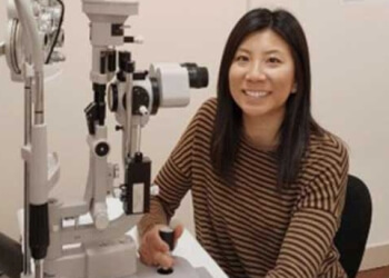 Airdrie pediatric optometrist Dr. Susan Wong, OD