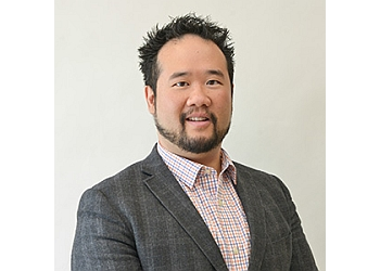 Edmonton pediatric optometrist Dr. Tom-Harley Poon, OD