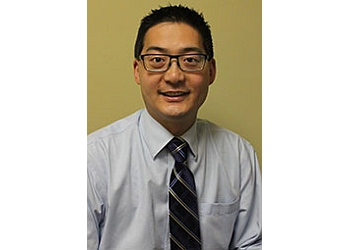 Oakville pediatric optometrist Dr. Trent Ujimoto, OD