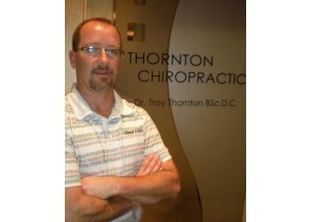 Winnipeg chiropractor Dr. Troy Thornton, DC