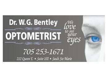 Sault Ste Marie optometrist Dr. W.G Bentley, OD
