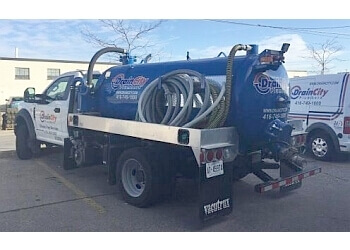 Toronto septic tank service Drain City