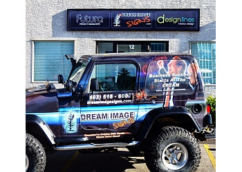 Calgary sign company Dream Image Signs