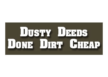Grande Prairie fencing contractor Dusty Deeds Done Dirt Cheap
