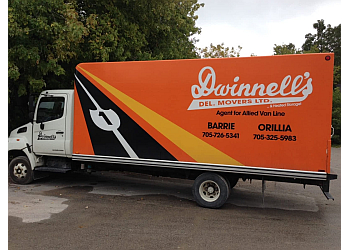 Orillia moving company Dwinnell's Delivery & Movers Ltd.