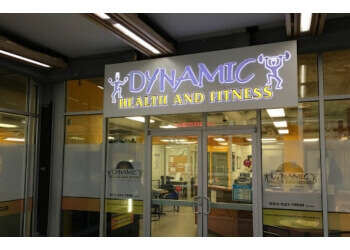 New Westminster gym Dynamic Health and Fitness