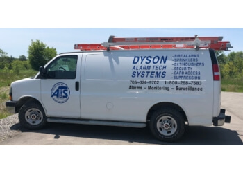 Kawartha Lakes security system Dyson Alarm Tech Systems Ltd.