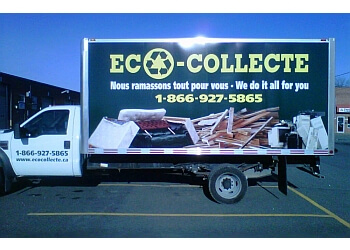 Montreal junk removal ECO-COLLECTE