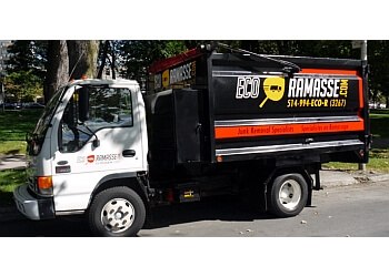 Montreal junk removal ECO RAMASSE