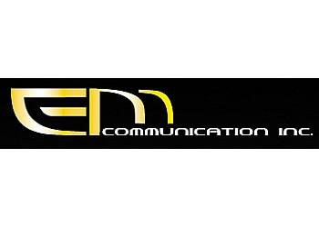 Drummondville web designer EM-COMMUNICATION