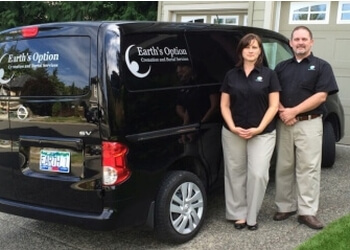 Victoria funeral home Earth's Option Cremation and Burial Services