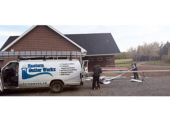 Halifax gutter cleaner Eastern Gutter Workx Inc.