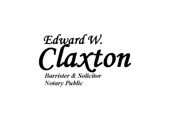 Kitchener notary public Edward W. Claxton, Lawyer, Barrister & Solicitor, Notary Public