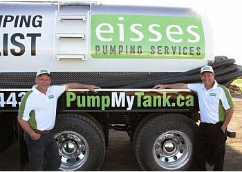 Barrie septic tank service Eisses Pumping Services