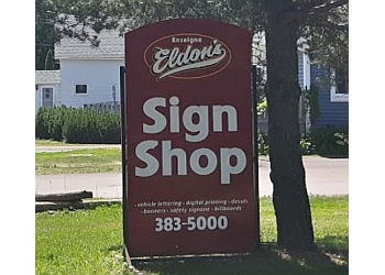 Moncton sign company Eldon's Sign Shop Ltd.