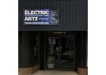 Grande Prairie tattoo shop Electric Arts Tattoo Studio