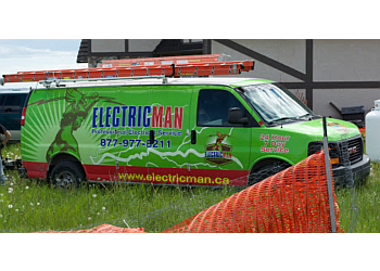 Airdrie electrician Electricman